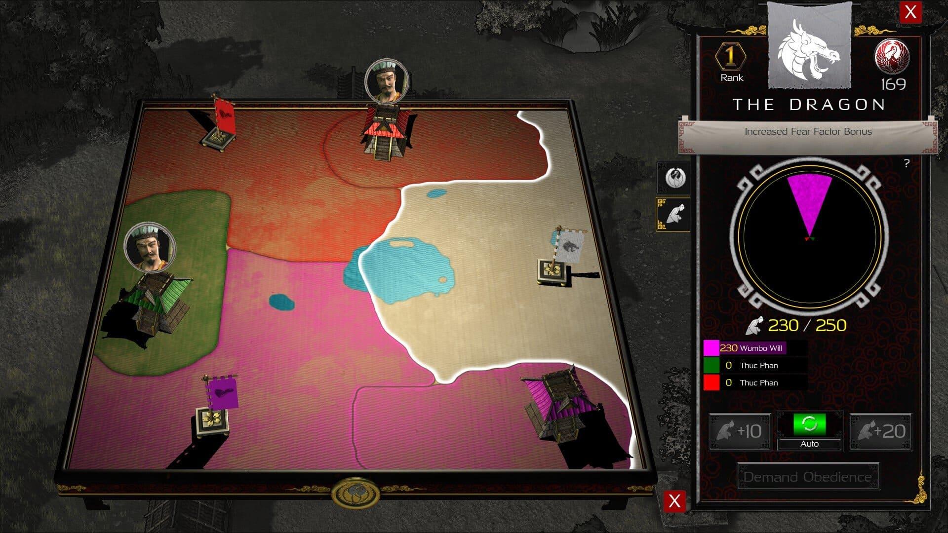 Stronghold: diplomacia de los señores de la guerra
