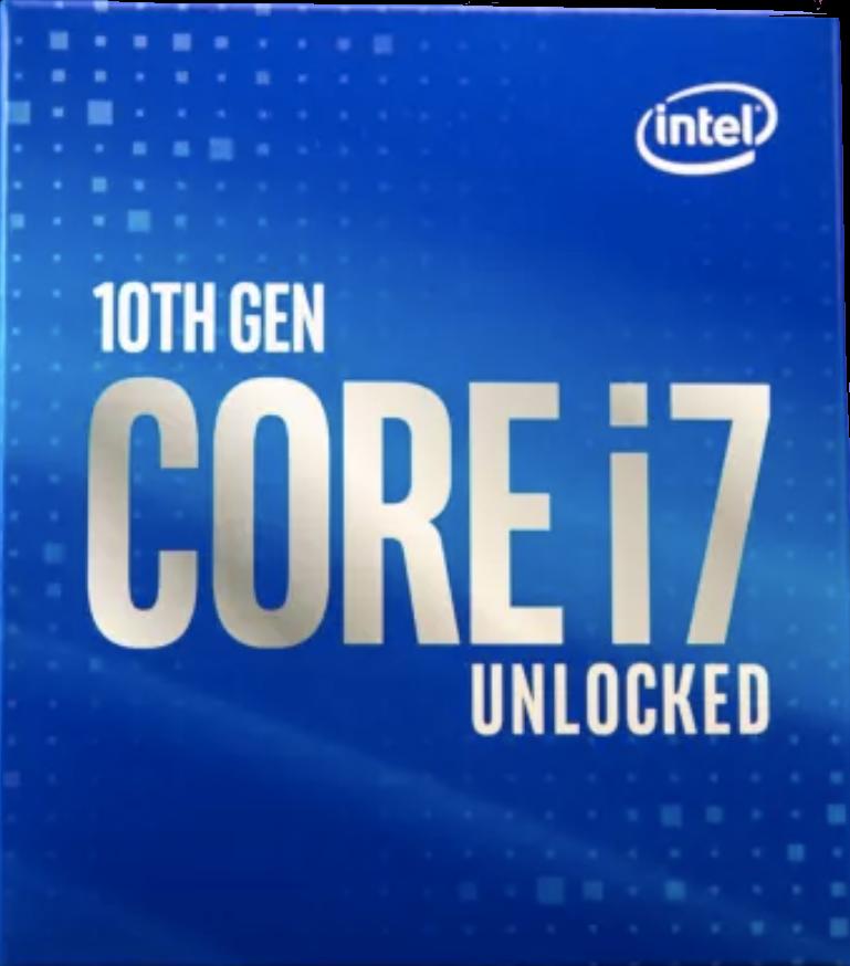 núcleo i7 10700k