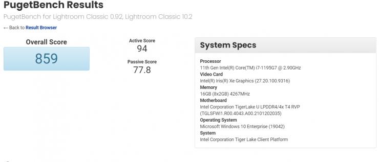 CPU de actualización Intel Core i7-1195G7 Tiger Lake-U