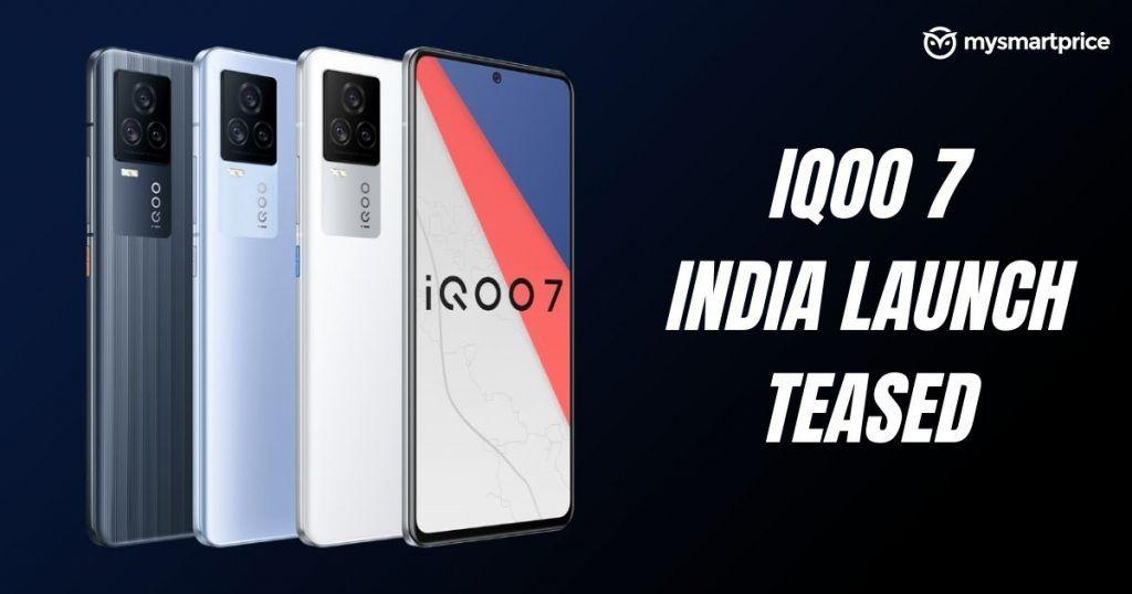 Lanzamiento de IQOO 7 en India