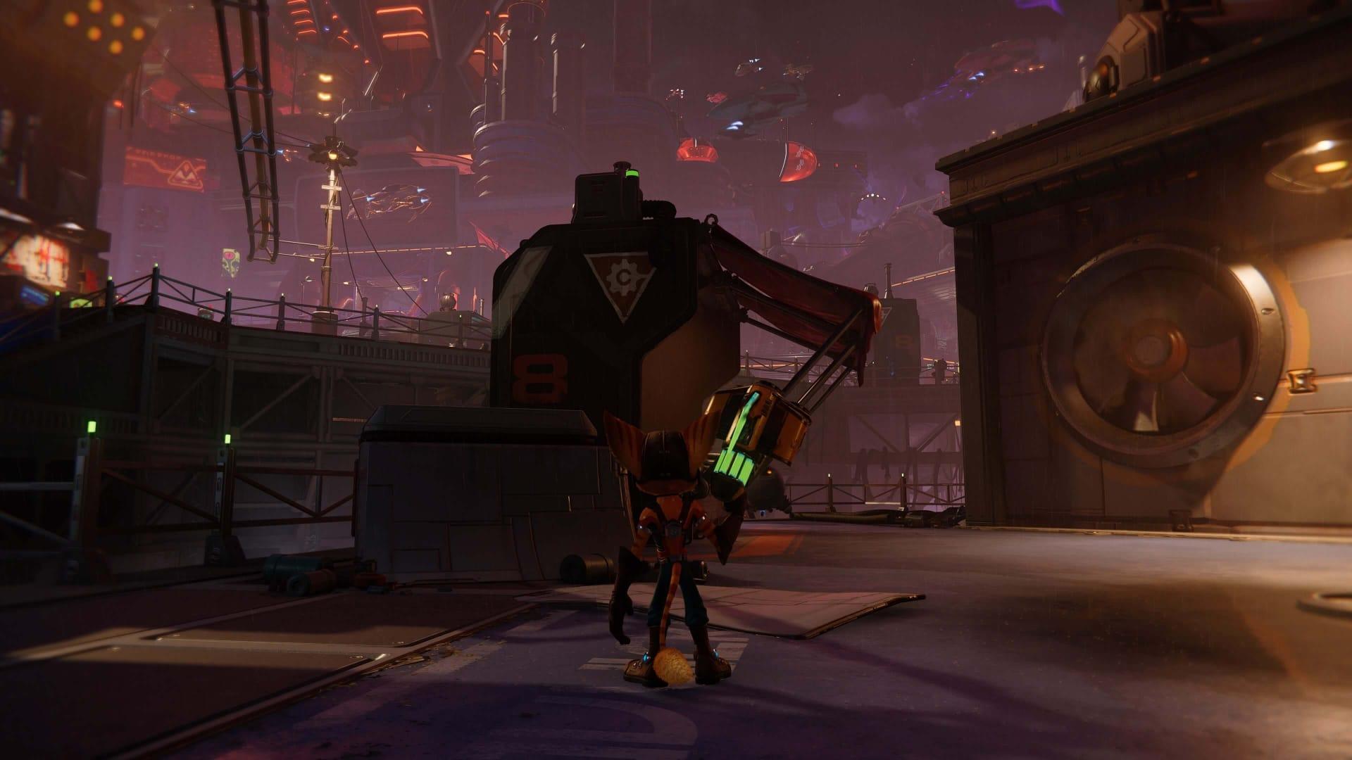 Ratchet & Clank Rift Apart Gold Bolt Jump