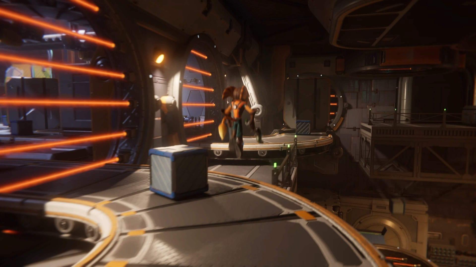 Sala de cinta transportadora de Ratchet & Clank
