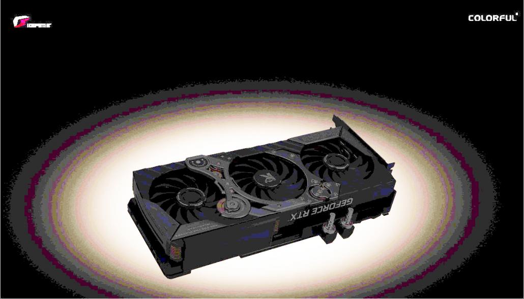 La tarjeta gráfica GeForce RTX 3090 iGame KUDAN de Colorful ha sido expuesta.