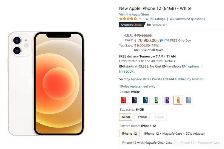 Amazon ofrece grandes descuentos en iPhone 12 y MacBooks antes de su evento Prime Day